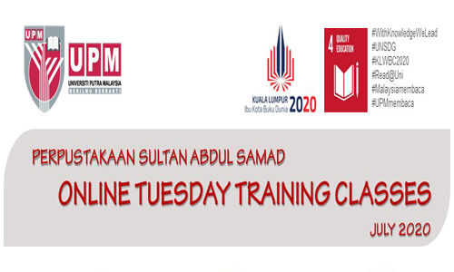 Online Tuesday Training Classes (July 2020)
